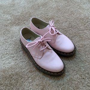 Dr. Martens pink shoes